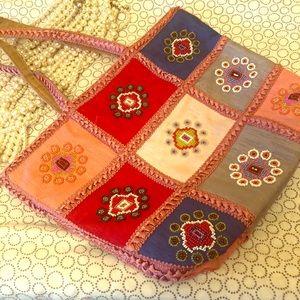 Vintage FENDI Beads beaded Bag stylish purse